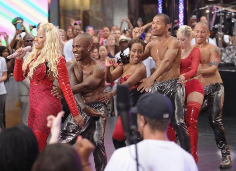 Nicki Minaj au Today Show (14 août 2012)