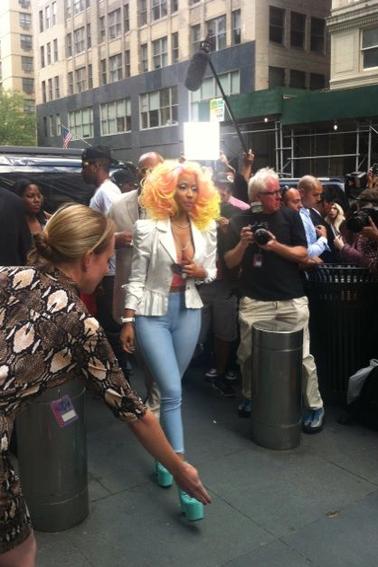 Nicki Minaj – American Idol ( Jour 1 )