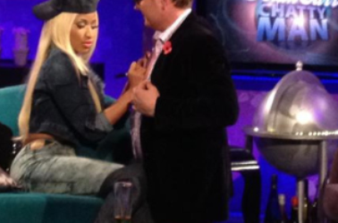 Nicki Minaj chez Alan Carr Chatty Man