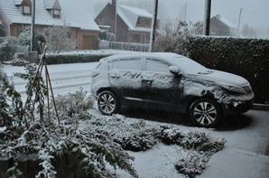 Neige dans les Flandres