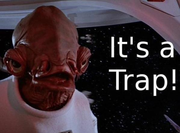 it's kirito trap!