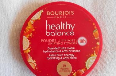 Revue n°1 : Healthy Balance de Bourgeois