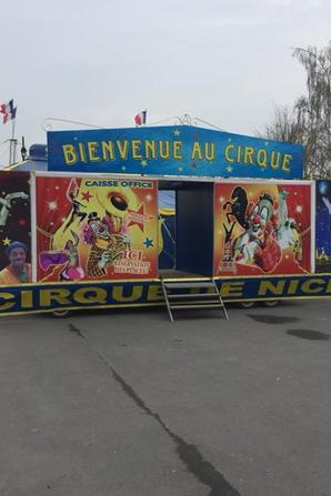 LE CIRQUE DE NICE DIRECTION SENECA !!