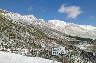 Thala g ilef-djurdjura en kabylie (algerie)