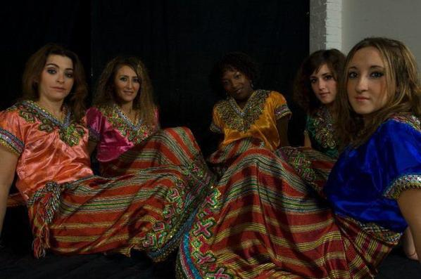 the beauty of different Berber origin