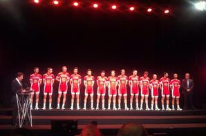 Présentation équipe professionnelle Cofidis 2015 au vélodrome de Roubaix, Villeneuve d'Ascq (59)