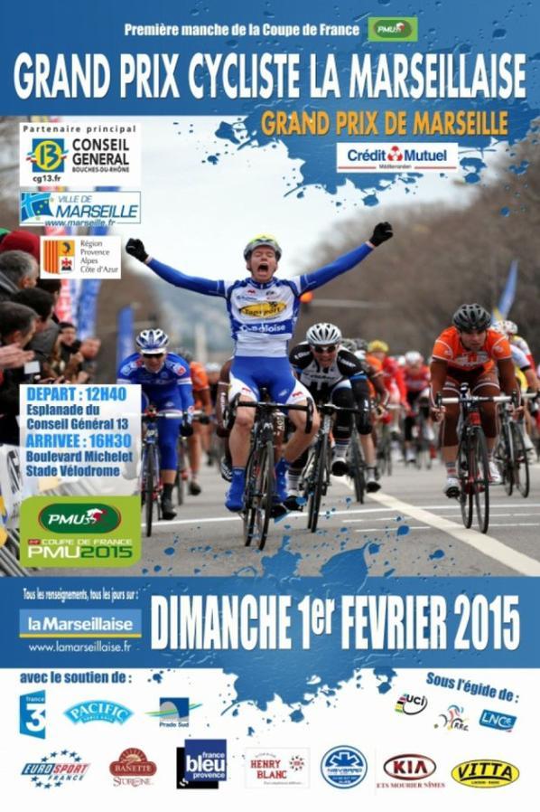 Grand Prix Cycliste la Marseillaise 2015, ouverture de la saison cycliste en France