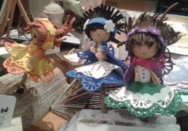 poupées en mousse lors de notre formation mensuelle kippers à semur chez Mary