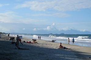 Hoi An's beach