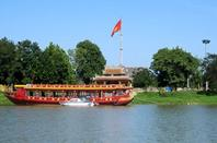 along the river in Hue province