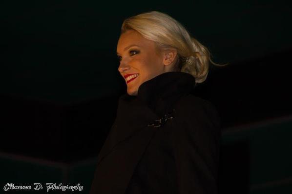 03.11.12 → Christelle était à l'élection de Miss Normandie 2012, Nathalie Chaumont.