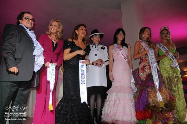 18.11.12 → Christelle était à l''élection de Miss Languedoc 2012, Lucie Morais.