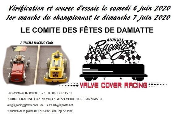 Championnat Rocker Cover Racing Pour la fête de Damiatte