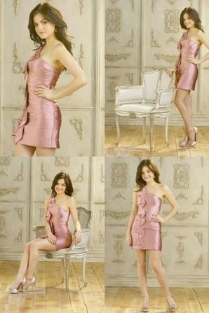Lucy Hale - Aria Montgomery - PLL