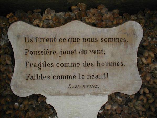 L'ossuaire de la place Denfert Rochereau  (Catacombe de paris) Prt 5
