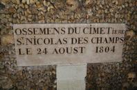 L'ossuaire de la place Denfert Rochereau  (Catacombe de paris) Prt 6