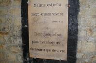 L'ossuaire de la place Denfert Rochereau  (Catacombe de paris) Prt 9