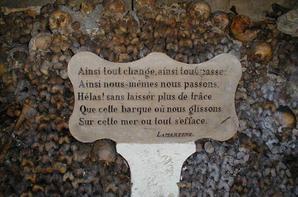 L'ossuaire de la place Denfert Rochereau  (Catacombe de paris) Prt 11