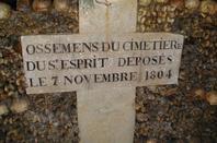 L'ossuaire de la place Denfert Rochereau  (Catacombe de paris) Prt 14