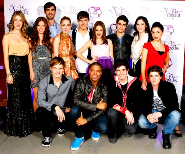 Le groupe de violetta tout les star - Tous les personnages de violetta ...