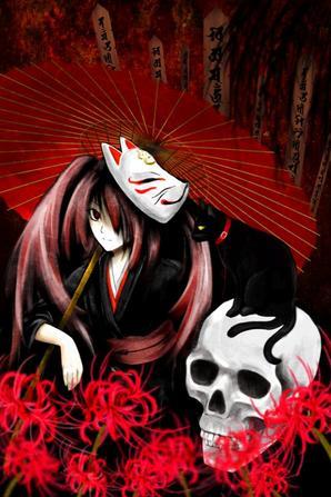 HATSUNE MIKU (MUSUNDE HIRAITE RASETSU TO MUKURO)