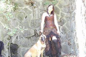 Photo avec ma Moka <3