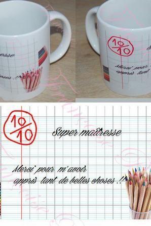 Mugs personnaliser