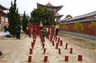 Janvier 2013 Temple Shaolin