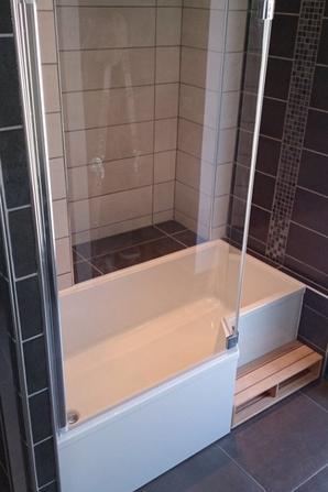 Salle de bain baignoire et douche 2015 - Ent Galzin Habitat ...