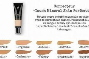 Fond de teint liquide Touch Mineral et son Dissimulateur perfecteur de teint Touch Mineral
