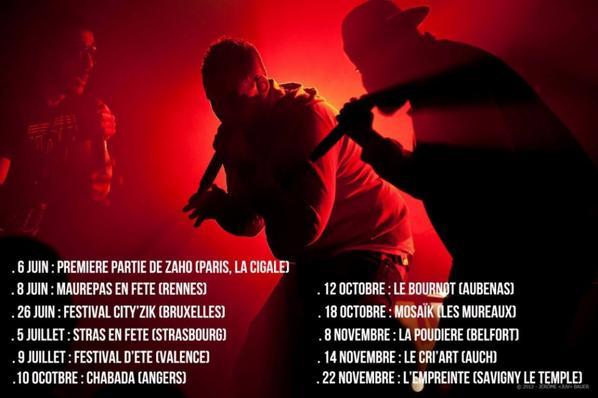 LECK TOUR // LES DATES A VENIR....