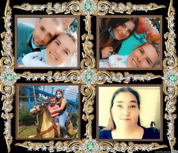ma fille sonia et nicolas,mes petits enfants océane,célia,nolan et moi agnes