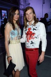 """2013 September 26 - Hier soir Melissa Mars & Mya Frye était à la """"Paris fashion week"""" de Christophe Guillarme"""