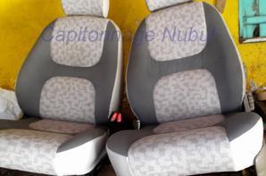 Portière et sièges