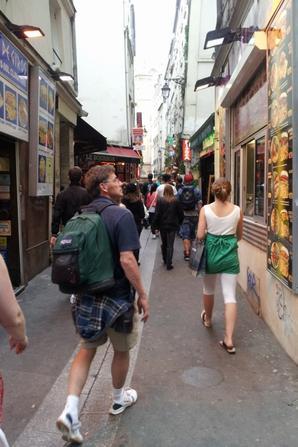 Paris du 3 au 10 aout 2012
