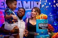 Anniversaire de Benjamin Rodrigues qui fête ses 2 ans