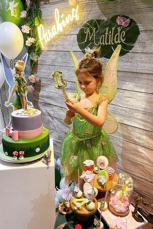 Anniversaire de Mathilde Fernandes qui fête ses 4 ans