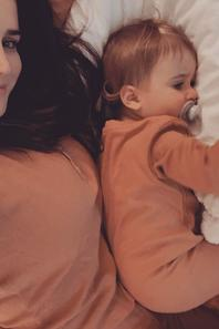Erin Borini & sa fille Stella