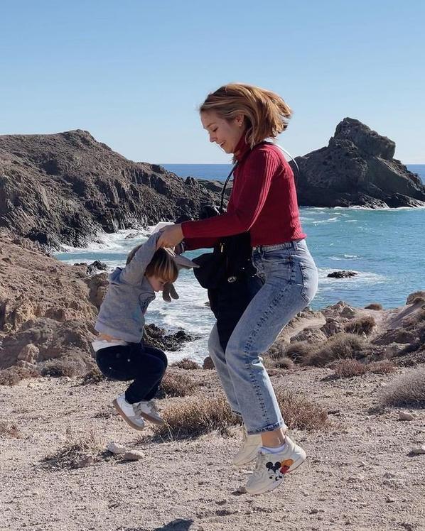 Marta Balliu & son fils Nil