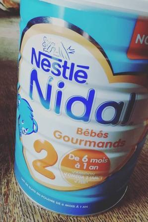 test du lait nidal bébé gourmand