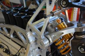 Aurora V8 with Hossack fork...