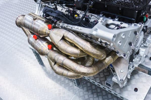 New Aston Martin V12