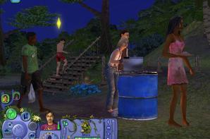 Les Sims : Histoires de Naufragés