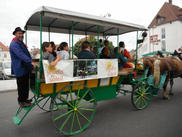 Les images des premiers Jeudis au Soleil Cours Saint-Mauris à Dole