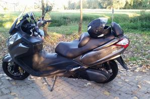 My latest Sym Maxiscooter 600 cc executive