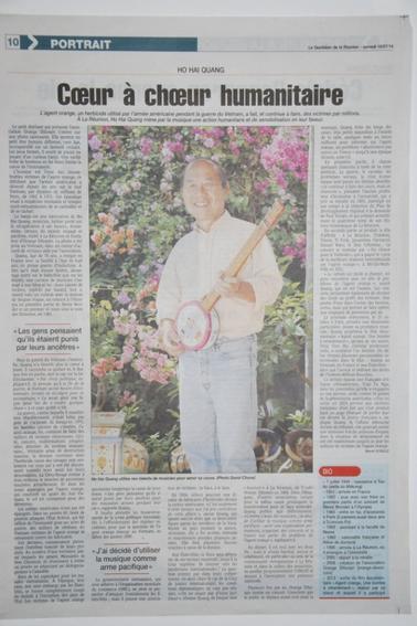 PROCHAIN CONCERT DE SOUTIEN LE SAMEDI 25 OCTOBRE 2014