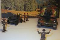 les figurines militaires