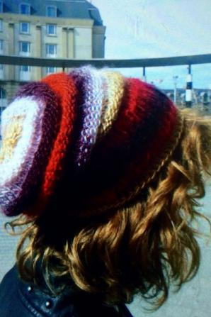 Dernière créa :) bonnet rasta