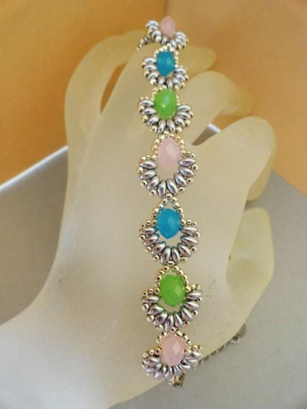 Bracelet Aurélie, nouvelles versions !