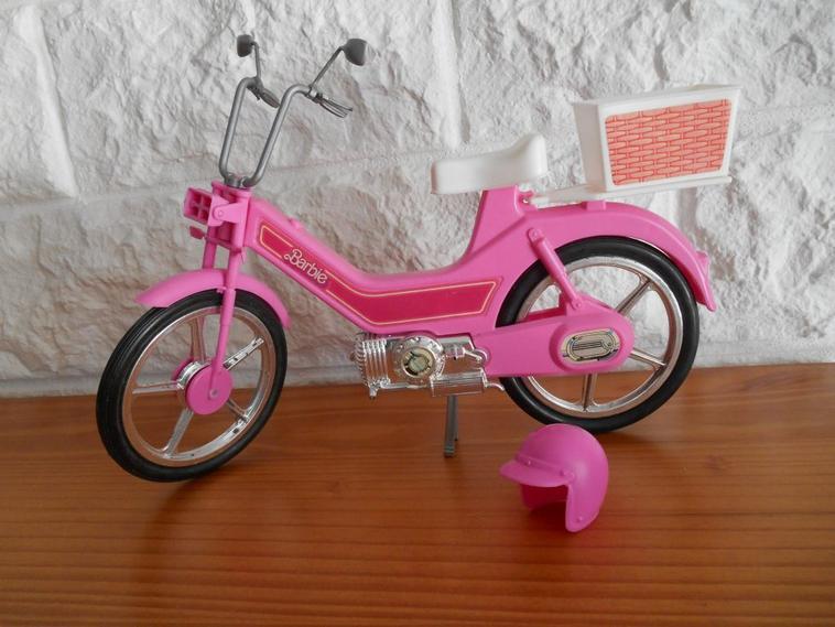 MOTOCYCLETTES DE BARBIE 1983